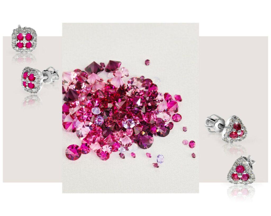 rubínové šperky